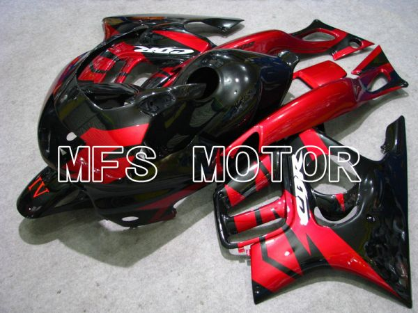 Honda CBR600 F3 1997-1998 Injection ABS Fairing - Factory Style - Black Red - MFS4973