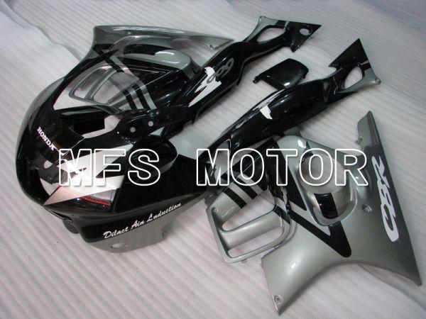 Honda CBR600 F3 1997-1998 Injection ABS Fairing - Factory Style - Black Silver - MFS4987