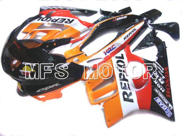 Honda CBR600 F3 1997-1998 Injection ABS Fairing - Repsol - Black Orange Red - MFS5014