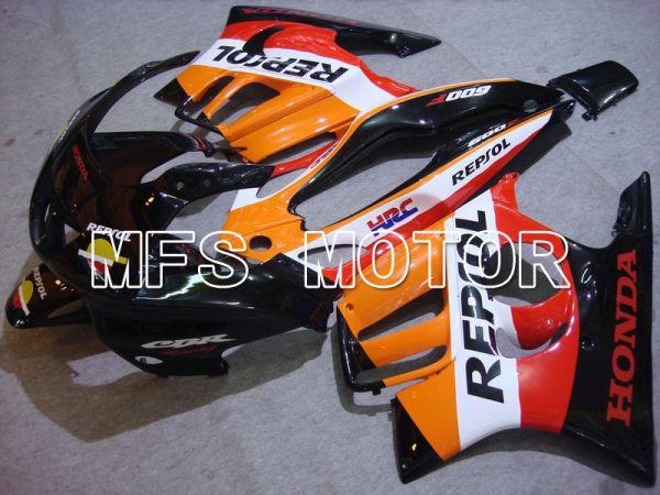 Honda CBR600 F3 1997-1998 Injection ABS Fairing - Repsol - Black Orange Red - MFS5015