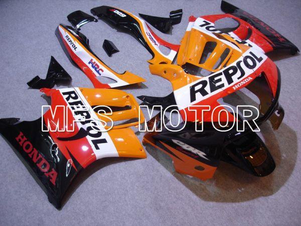Honda CBR600 F3 1997-1998 Injection ABS Fairing - Repsol - Black Orange Red - MFS5016