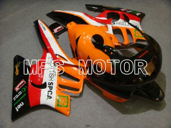 Honda CBR600 F3 1997-1998 Injection ABS Fairing - Others - Black Orange Red - MFS5021