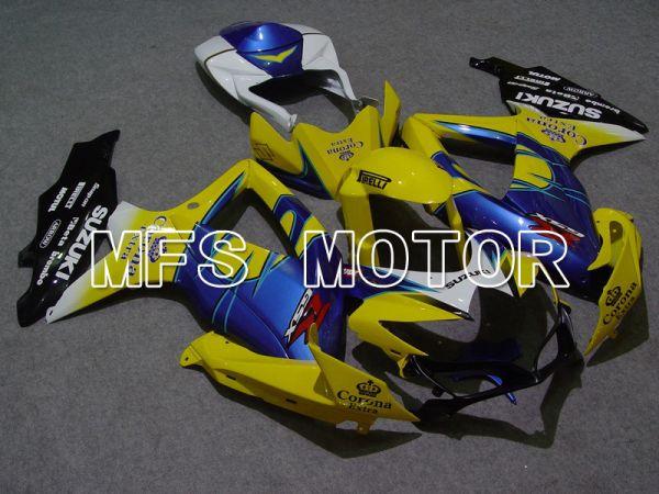 Suzuki GSXR600 GSXR750 2008-2010 Injection ABS Fairing - Corona - Blue Yellow - MFS5036