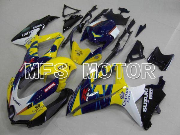 Suzuki GSXR600 GSXR750 2008-2010 Injection ABS Fairing - Corona - Blue Yellow - MFS5037