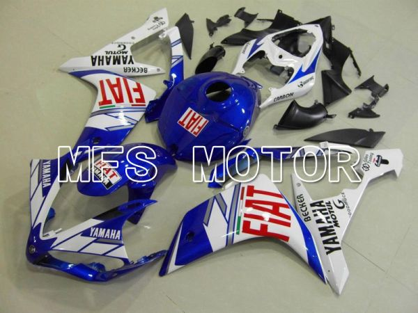 Yamaha YZF-R1 2007-2008 Injection ABS Fairing - FIAT - Blue White - MFS5051