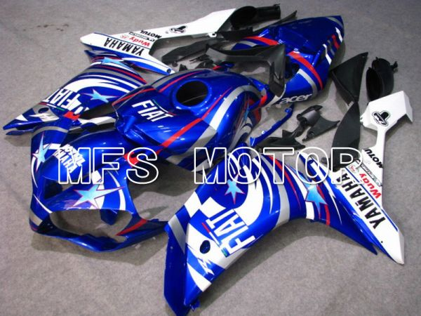 Yamaha YZF-R1 2007-2008 Injection ABS Fairing - FIAT - Blue White - MFS5058