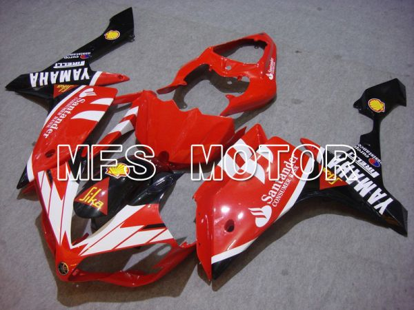 Yamaha YZF-R1 2007-2008 Injection ABS Fairing - Santander - White Red - MFS5065