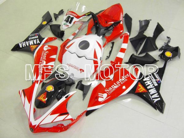 Yamaha YZF-R1 2007-2008 Injection ABS Fairing - Santander - White Red - MFS5066