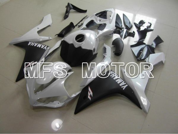 Yamaha YZF-R1 2007-2008 Injection ABS Fairing - Factory Style - Black White - MFS5069