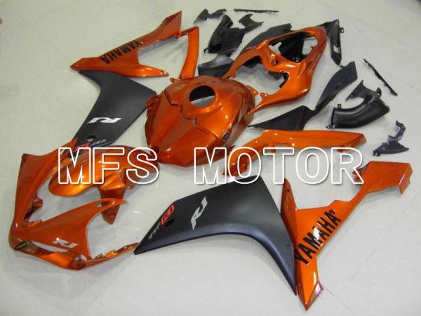 Yamaha YZF-R1 2007-2008 Injection ABS Fairing - Factory Style - Black Orange - MFS5070