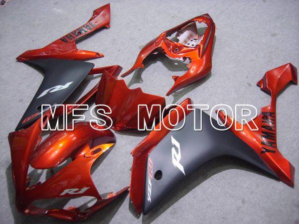Yamaha YZF-R1 2007-2008 Injection ABS Fairing - Factory Style - Black Orange - MFS5072