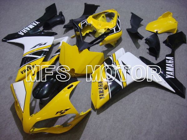 Yamaha YZF-R1 2007-2008 Injection ABS Fairing - Factory Style - Yellow Black White - MFS5076