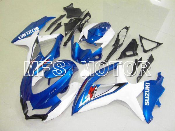 Suzuki GSXR600 GSXR750 2008-2010 Injection ABS Fairing - Factory Style - Blue White - MFS5079
