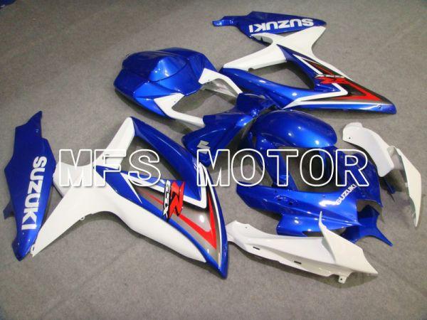 Suzuki GSXR600 GSXR750 2008-2010 Injection ABS Fairing - Factory Style - Blue White - MFS5080