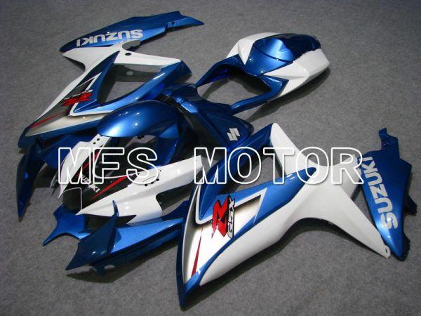 Suzuki GSXR600 GSXR750 2008-2010 Injection ABS Fairing - Factory Style - Blue White - MFS5084