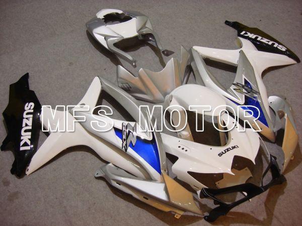 Suzuki GSXR600 GSXR750 2008-2010 Injection ABS Fairing - Factory Style - White Silver - MFS5089