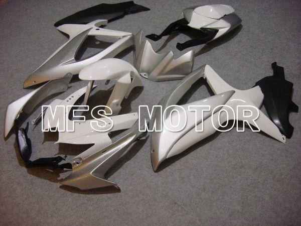 Suzuki GSXR600 GSXR750 2008-2010 Injection ABS Fairing - Factory Style - White Silver - MFS5103