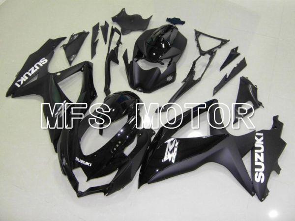 Suzuki GSXR600 GSXR750 2008-2010 Injection ABS Fairing - Factory Style - Black Matte - MFS5108