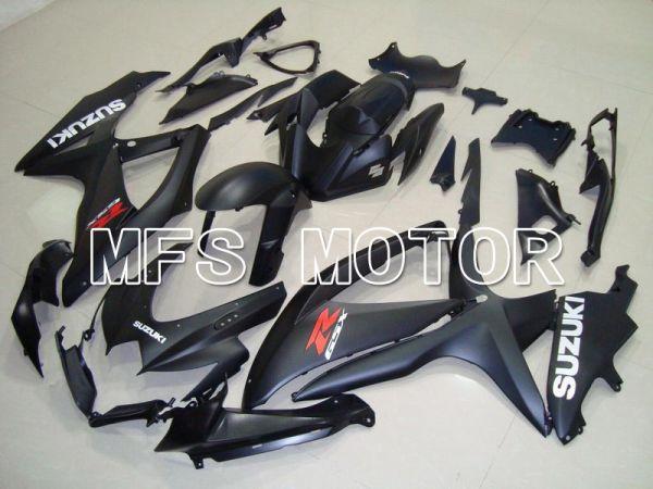 Suzuki GSXR600 GSXR750 2008-2010 Injection ABS Fairing - Factory Style - Black Matte - MFS5109