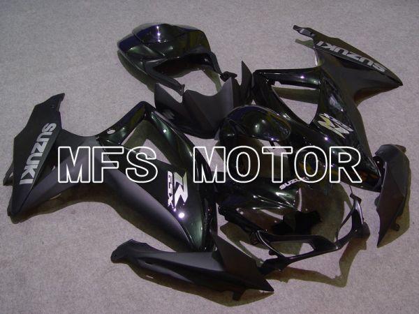 Suzuki GSXR600 GSXR750 2008-2010 Injection ABS Fairing - Factory Style - Black Matte - MFS5110