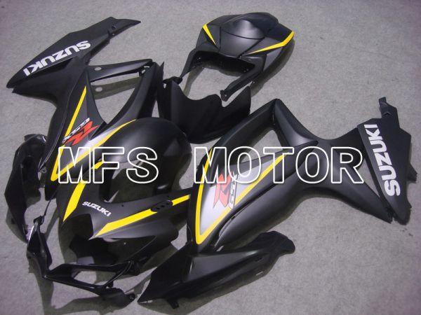 Suzuki GSXR600 GSXR750 2008-2010 Injection ABS Fairing - Factory Style - Black Gray - MFS5117