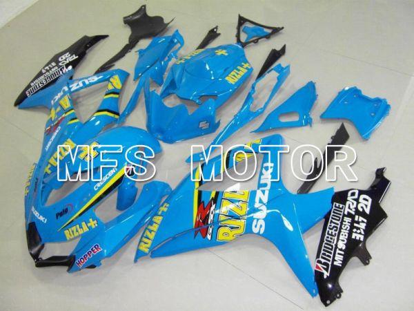 Suzuki GSXR600 GSXR750 2008-2010 Injection ABS Fairing - Rizla+ - Blue - MFS5119