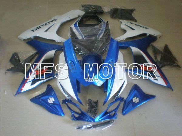 Suzuki GSXR600 GSXR750 2011-2016 Injection ABS Fairing - Factory Style - Blue White - MFS5130