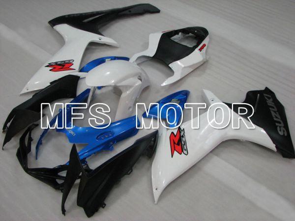 Suzuki GSXR600 GSXR750 2011-2016 Injection ABS Fairing - Factory Style - Blue White Matte - MFS5155