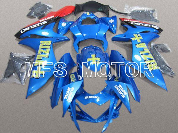 Suzuki GSXR600 GSXR750 2011-2016 Injection ABS Fairing - Rizla+ - Blue - MFS5160