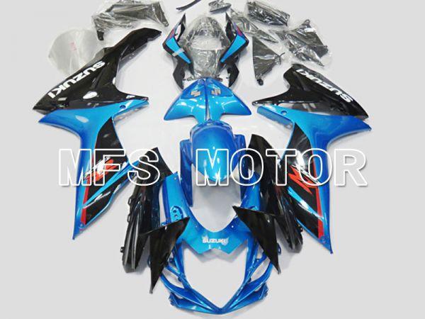 Suzuki GSXR600 GSXR750 2011-2016 Injection ABS Fairing - Factory Style - Black Blue - MFS5166