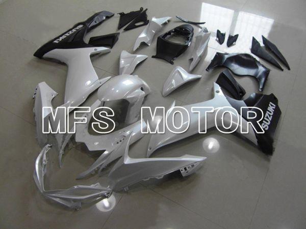 Suzuki GSXR600 GSXR750 2011-2016 Injection ABS Fairing - Factory Style - White - MFS5183
