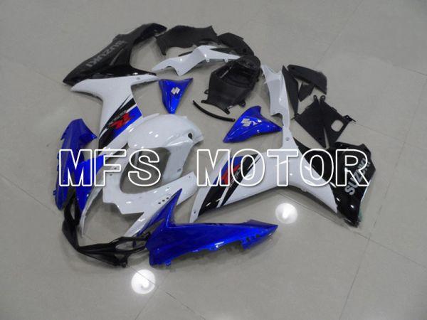 Suzuki GSXR600 GSXR750 2011-2016 Injection ABS Fairing - Factory Style - Black Blue White - MFS5195