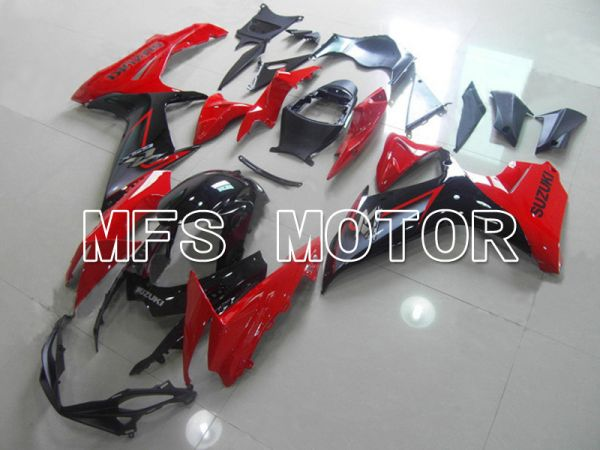 Suzuki GSXR600 GSXR750 2011-2016 Injection ABS Fairing - Factory Style - Black Red - MFS5198