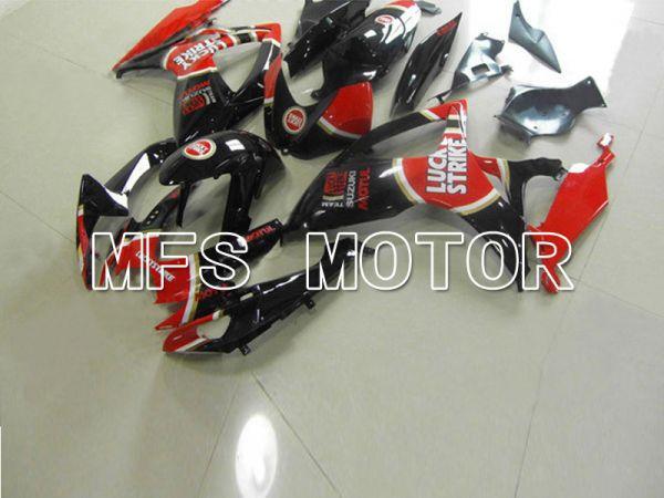 Suzuki GSXR600 GSXR750 2011-2016 Injection ABS Fairing - Factory Style - Black Red - MFS5199