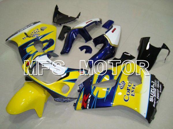 Suzuki GSXR600 1997-2000 ABS Fairing - Corona - Blue Yellow - MFS5211