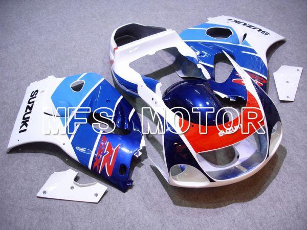 Suzuki GSXR600 1997-2000 ABS Fairing - Factory Style - Blue White - MFS5242