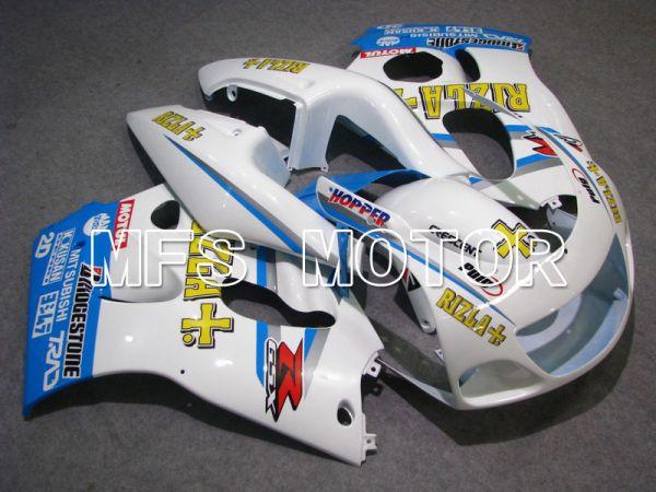 Suzuki GSXR600 1997-2000 ABS Fairing - Rizla+ - Blue White - MFS5261