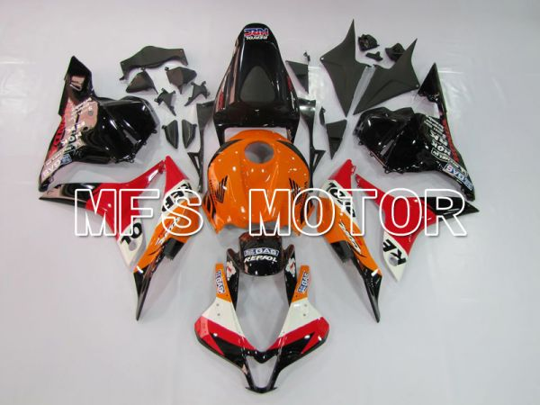 Honda CBR600RR 2009-2012 Injection ABS Fairing - Repsol - Orange Red Black - MFS5540