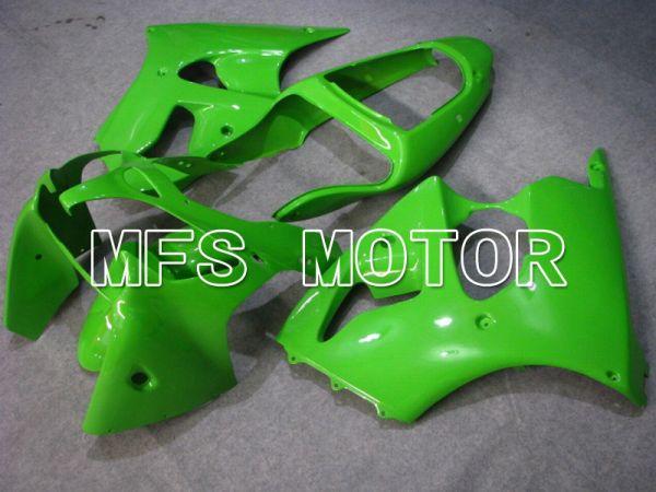 Kawasaki NINJA ZX6R 2000-2002 Injection ABS Fairing - Factory Style - Green - MFS5554