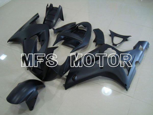 Kawasaki NINJA ZX6R 2003-2004 Injection ABS Fairing - Factory Style - Black Matte - MFS5611