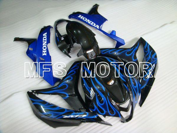 Honda CBR600RR 2007-2008 Injection ABS Fairing - Flame - Black Blue - MFS5619