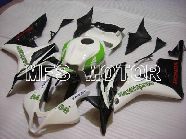 Honda CBR600RR 2007-2008 Injection ABS Fairing - HANN Spree - Black White - MFS5630
