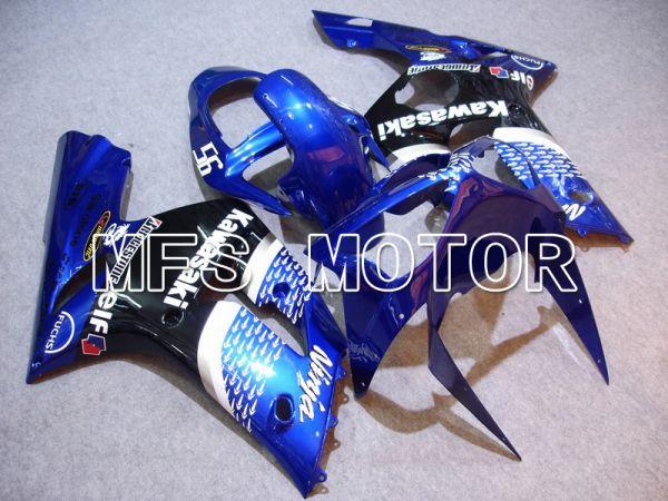 Kawasaki NINJA ZX6R 2003-2004 Injection ABS Fairing - Factory Style - Blue - MFS5633