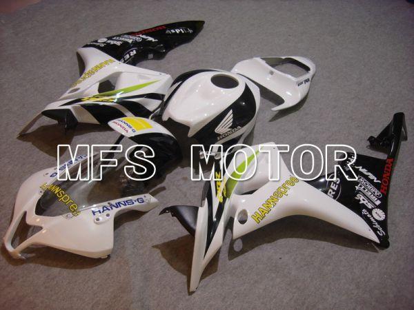 Honda CBR600RR 2007-2008 Injection ABS Fairing - HANN Spree - Black White - MFS5637