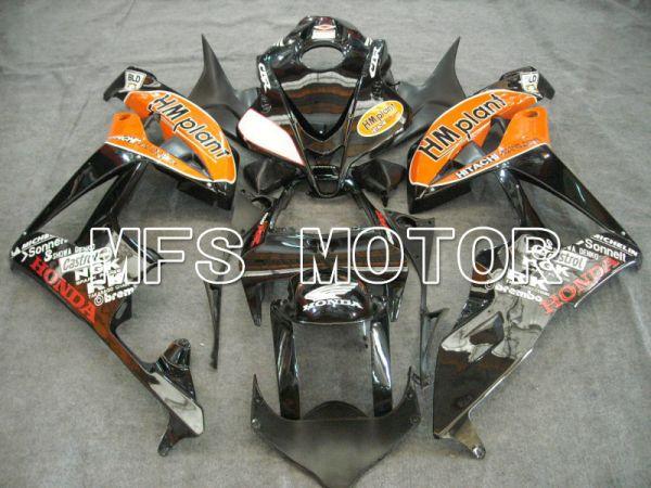Honda CBR600RR 2007-2008 Injection ABS Fairing - HM Plant - Black Orange - MFS5642
