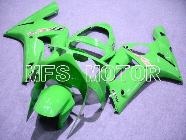 Kawasaki NINJA ZX6R 2003-2004 Injection ABS Fairing - Factory Style - Green - MFS5648