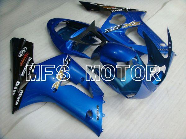 Kawasaki NINJA ZX6R 2003-2004 Injection ABS Fairing - Factory Style - Blue - MFS5649