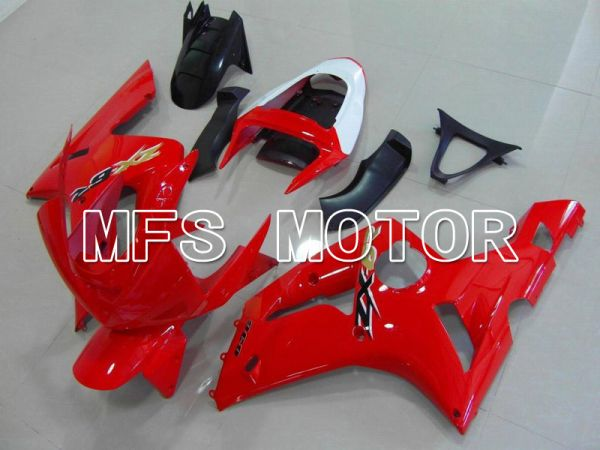 Kawasaki NINJA ZX6R 2003-2004 Injection ABS Fairing - Factory Style - Black Red - MFS5651
