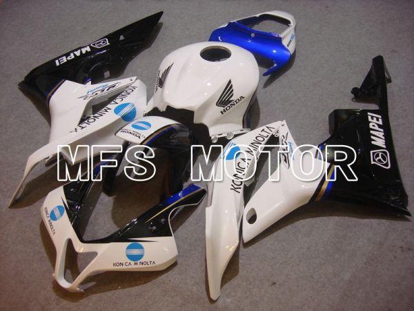 Honda CBR600RR 2007-2008 Injection ABS Fairing - Konica Minolta - Black White - MFS5655