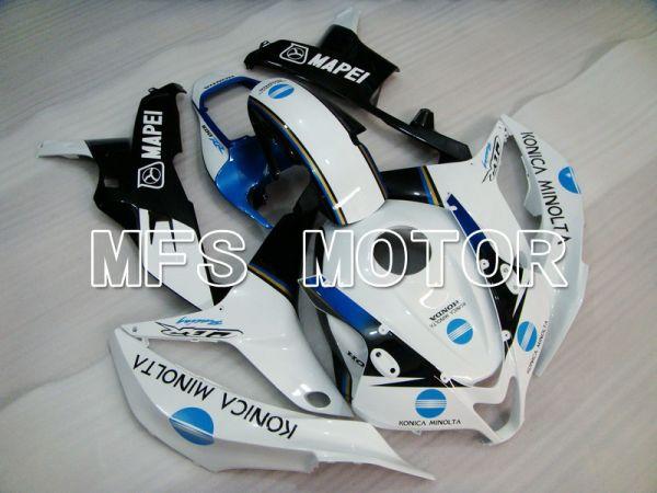 Honda CBR600RR 2007-2008 Injection ABS Fairing - Konica Minolta - Black White - MFS5656